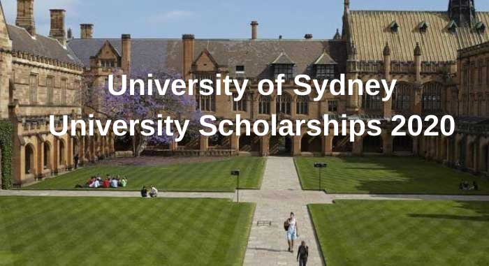 University of Sydney Scholarships 2020